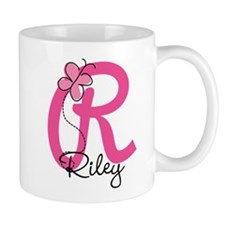 Personalized Monogram Letter R Mug