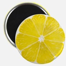 Yellow Lemon Slice Magnet