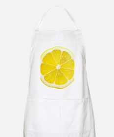 Yellow Lemon Slice Apron