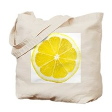Yellow Lemon Slice Tote Bag
