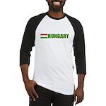 Hungary Flag Baseball Jersey