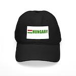 Hungary Flag Black Cap
