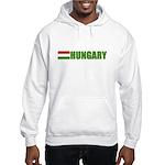 Hungary Flag Hooded Sweatshirt