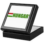 Hungary Flag Keepsake Box