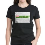 Hungary Flag Women's Dark T-Shirt