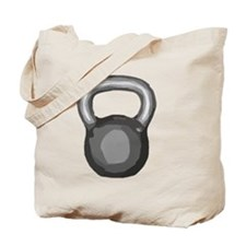 Kettlebell Tote Bag