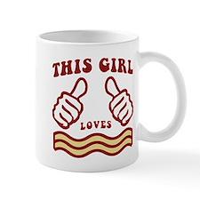 This Girl Loves Bacon Mugs