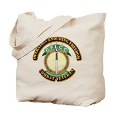 Operation Enduring Freedom Tote Bag