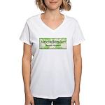SurvivalBlog Women's V-Neck T-Shirt