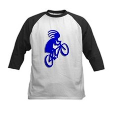 Blue Biker Tee