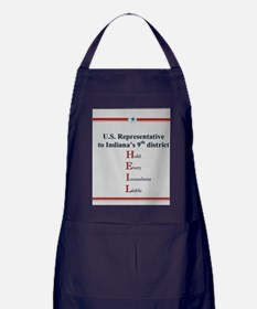Hold Every Incumbent liable Apron (dark)