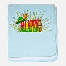Jalapeno baby blanket