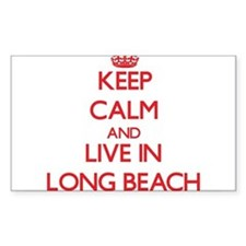 Keep Calm and Live in Long Beach Decal