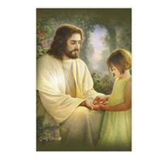 Jesus and child Postcards (Package of 8)