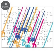 Sword salute in colour Puzzle
