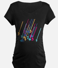 Sword salute in colour T-Shirt