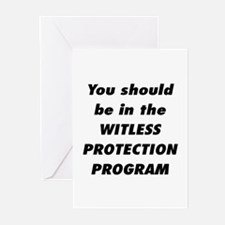 Witless Protection 2 Greeting Cards (Pk of 10