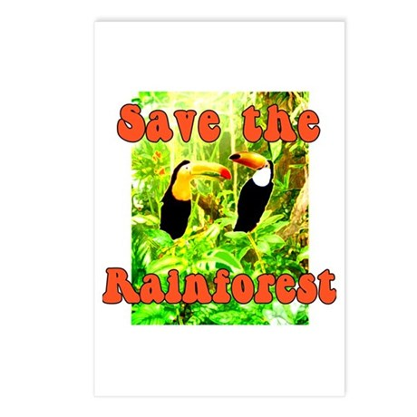 Save the Rain Forest Postcards (Package of 8)