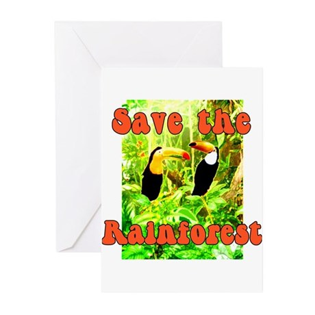 Save the Rain Forest Greeting Cards (Pk of 10)
