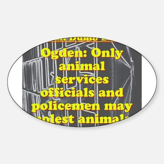 Utah Dumb Law 009 Decal