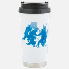 Blue invert enggagments Travel Mug