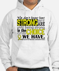 How Strong We Are Endometriosis Hoodie