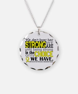 How Strong We Are Endometrio Necklace