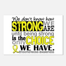 How Strong We Are Endomet Postcards (Package of 8)
