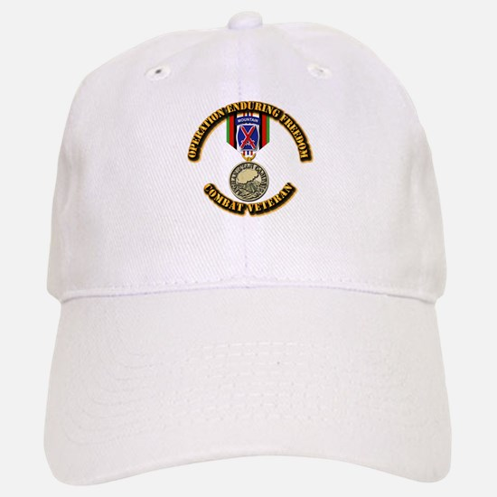 Operation Enduring Freedom - 10th Mtn Div Baseball Baseball Cap