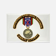 Operation Enduring Freedom - 10th Rectangle Magnet