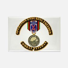 Operation Enduring Free Rectangle Magnet (10 pack)