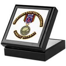Operation Enduring Freedom - 10th Mtn Keepsake Box