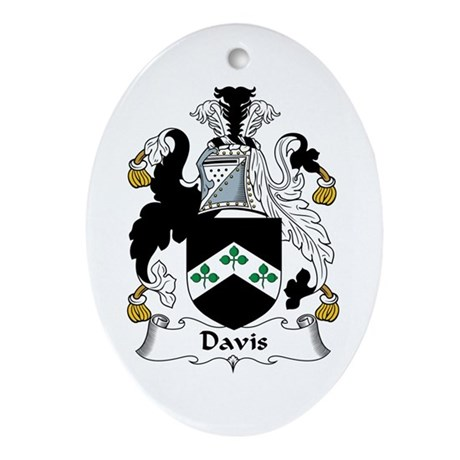 Davis Oval Ornament