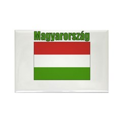 Magyarország Flag Rectangle Magnet (100 pack)