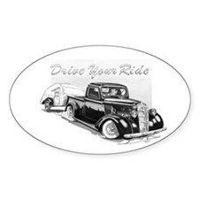 Drive Your Ride Oval Decal