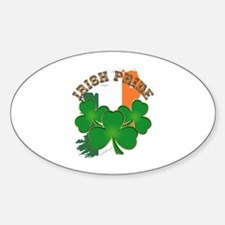 Saint Patrick's Day No text Sticker (Oval)