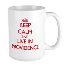 Keep Calm and Live in Providence Mugs