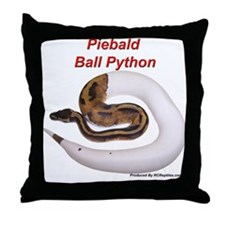 Funny Piebald Throw Pillow