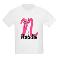Personalized Monogram Letter N T-Shirt