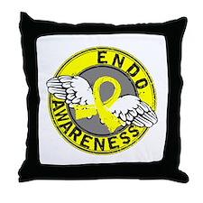 Awareness 14 Endometriosis Throw Pillow
