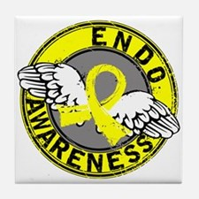 Awareness 14 Endometriosis Tile Coaster