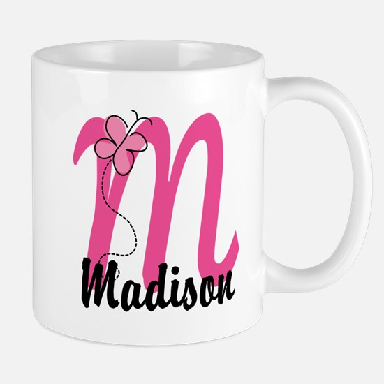 Personalized Monogram Letter M Mug
