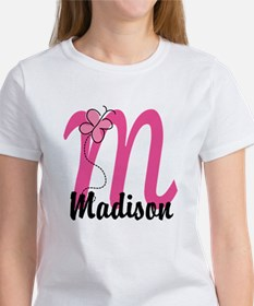 Personalized Monogram Letter M Tee