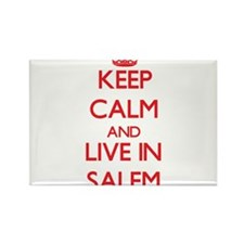 Keep Calm and Live in Salem Magnets
