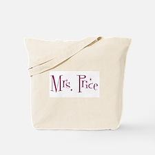 Mrs. Price Tote Bag