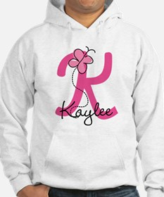 Personalized Monogram Letter K Jumper Hoody