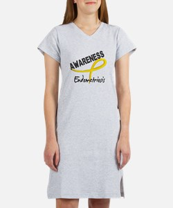Awareness 3 Endometriosis Women's Nightshirt