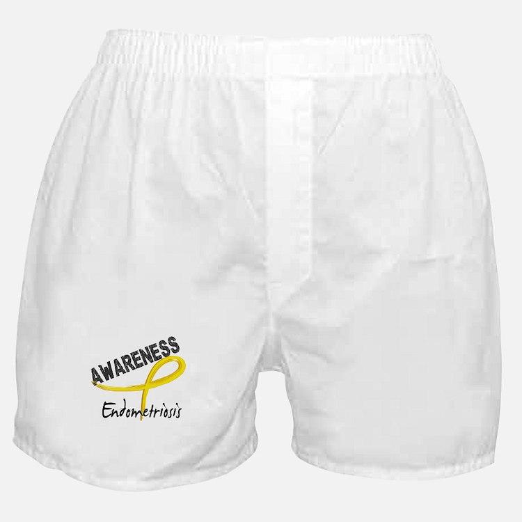 Awareness 3 Endometriosis Boxer Shorts