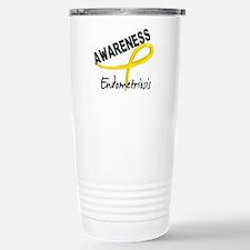 Awareness 3 Endometrios Stainless Steel Travel Mug