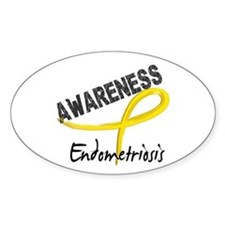 Awareness 3 Endometriosis Decal